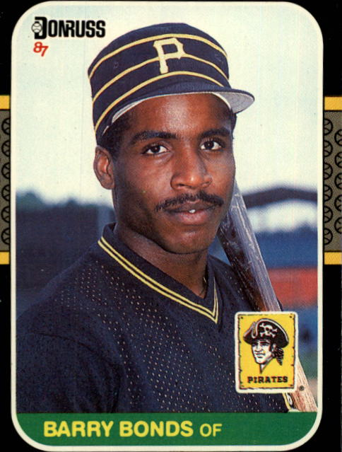 Barry Lamar Bonds - Donruss 1987 Rookie Card #361